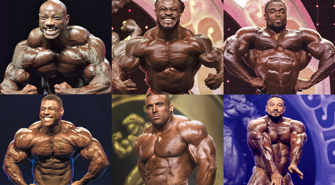 Shawn Ray S Top 6 Men S Open Bodybuilding Olympia Contenders Muscle Fitness
