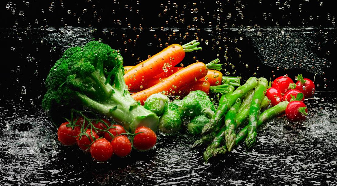 Washing-Vegetables-Water
