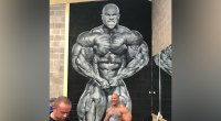 This Gym Surprised Phil Heath With an Amazing Mural