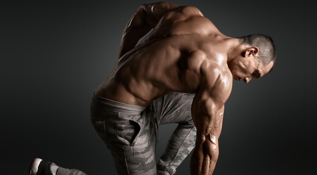 Bodybuilder-Muscular-Pose-Shoulders-Back