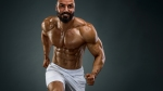 Bodybuilder-Running