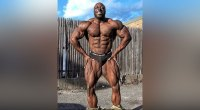 George Peterson is in the Shape of His Life 4 Weeks Out from the Olympia.