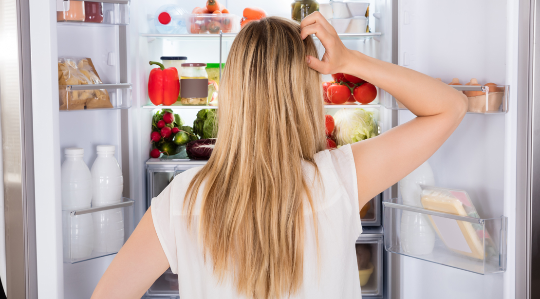 Girl-In-Front-Fridge-Decisions-Confused