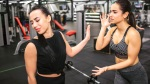 Girls-Gossiping-Gym