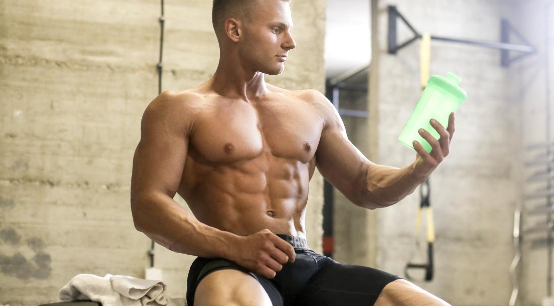 Musclular-Man-Protein-Shake-Shaker