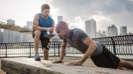Personal-Trainer-Monitoring-Pushup-City
