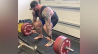 Thor Bjornsson Makes Deadlifting 815 Pounds Look Like Nothing
