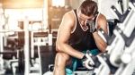 Man-Frustrated-At-Workout-Bench