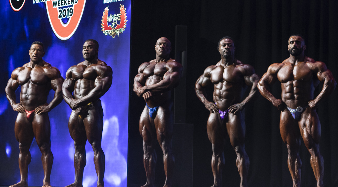 Behind The Scene of the final five Mr. Olympia contestants