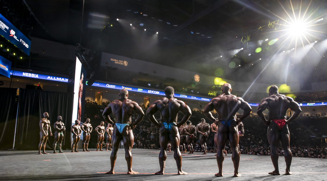 Olympia experience Behind The Scene Open Bodybuilder Lineup