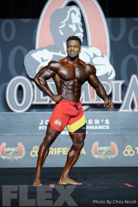 Suraqah Shabazz - Men's Physique - 2019 Olympia