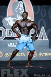 Kimani Victor - Men's Physique - 2019 Olympia