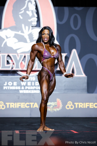 MayLa Ash - Women's Physique - 2019 Olympia