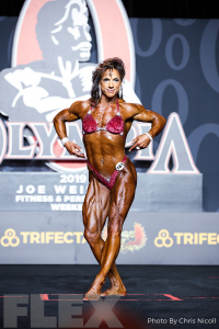 Sheila Bleck - Women's Physique - 2019 Olympia