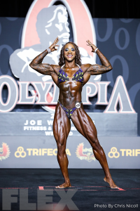 Reshanna Boswell - Women's Physique - 2019 Olympia