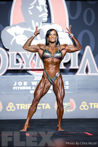 Laura Pintado Chinchilla - Women's Physique - 2019 Olympia