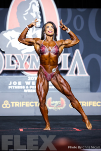 Valentina Mishina - Women's Physique - 2019 Olympia