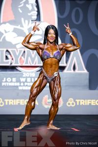Sheikha Nguyen - Women's Physique - 2019 Olympia