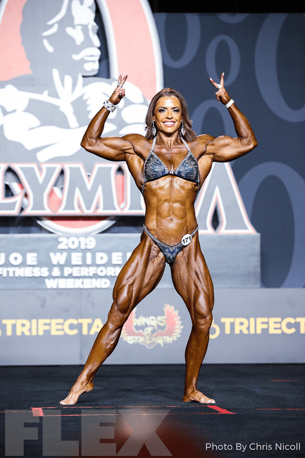 Ivie Rhein - Women's Physique - 2019 Olympia