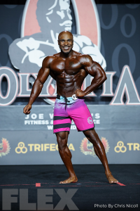 Anthony Gilkes - Men's Physique - 2019 Olympia