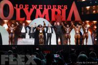 Awards - Open Bodybuilding - 2019 Olympia
