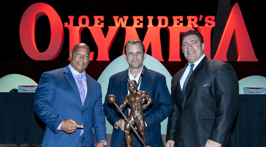 Miss the Mr. Olympia Presser? Watch it back here!