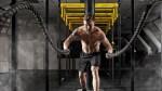 Shirtless-Man-Beard-Battle-Ropes-Smokey-Gym