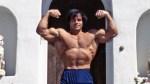 Bodybuilder Franco Columbu Posing