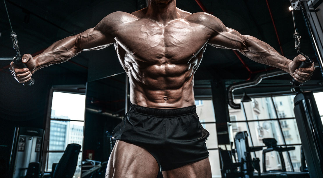 Cable Crossover Bodybuilder