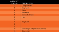 Intensity Rating Scale