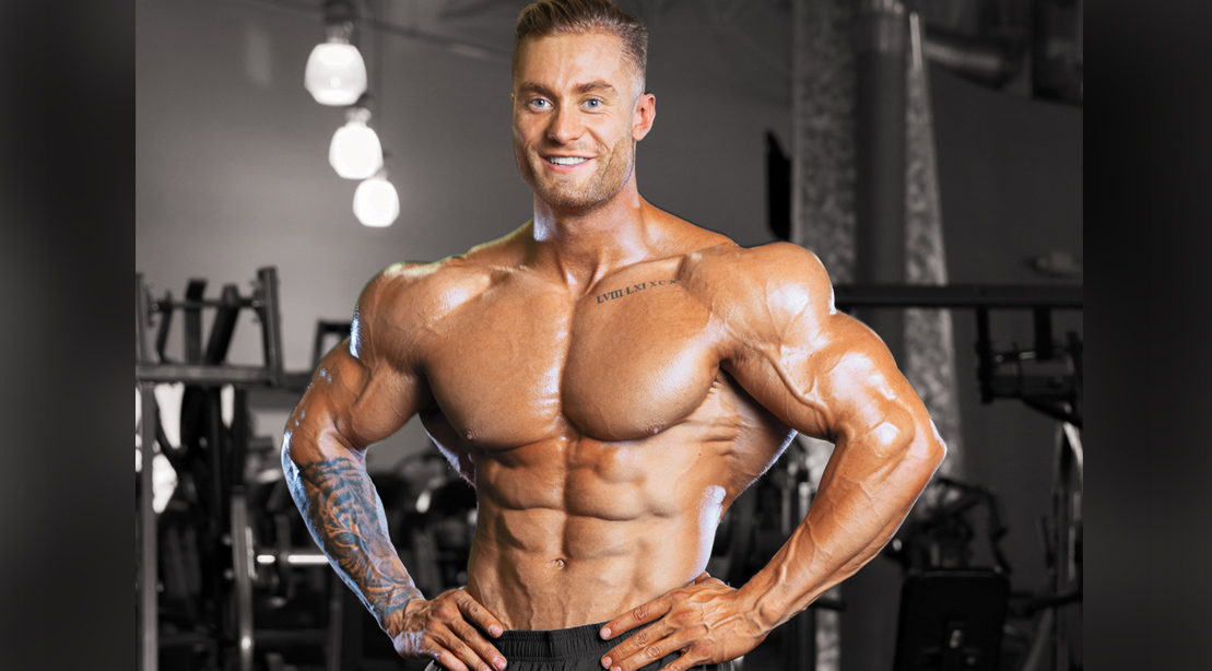 Chris Bumstead's Home Gym Shoulder Workout   Muscle & Fitness