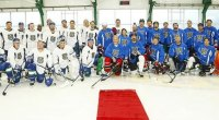 Celebrity Trainer Don Saladino Participates in Charity Hockey Game