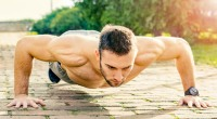 Muscular-Guy-Wide-Grip-Pushup-Variation
