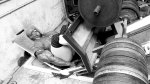 Ronnie Coleman working out his leg and quad muscles with a machine leg press exercise