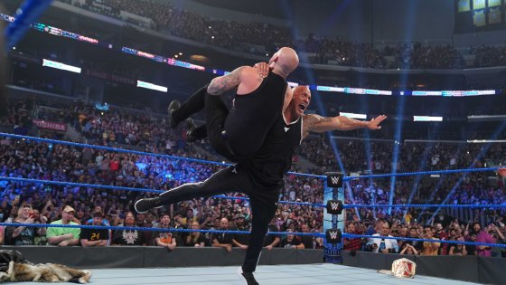 The Rock Made a Triumphant Return to WWE SmackDown ...