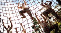 Armed-Forces-Climbing-Net-Training
