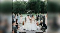 Bridges Deadlift 250 Pounds During Their Wedding Ceremony