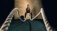 Female-Doing-Battle-Ropes-at-End-of-Ropes