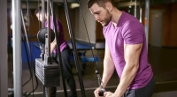 Male-Cable-Pushdown-Tricep-Workout