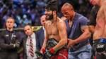 Dwayne Johnson Places the UFC's BF Belt on Jorge Masvidal at UFC 244