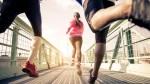 Three-People-Running-On-Bridge-Female-Focus
