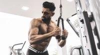 Muscular-Man-Performing-Tricep-Pushdown