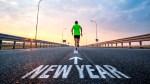 Runner-Running-Road-Highway-Sunrise-New-Year