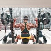 behind-the-neck shoulder press
