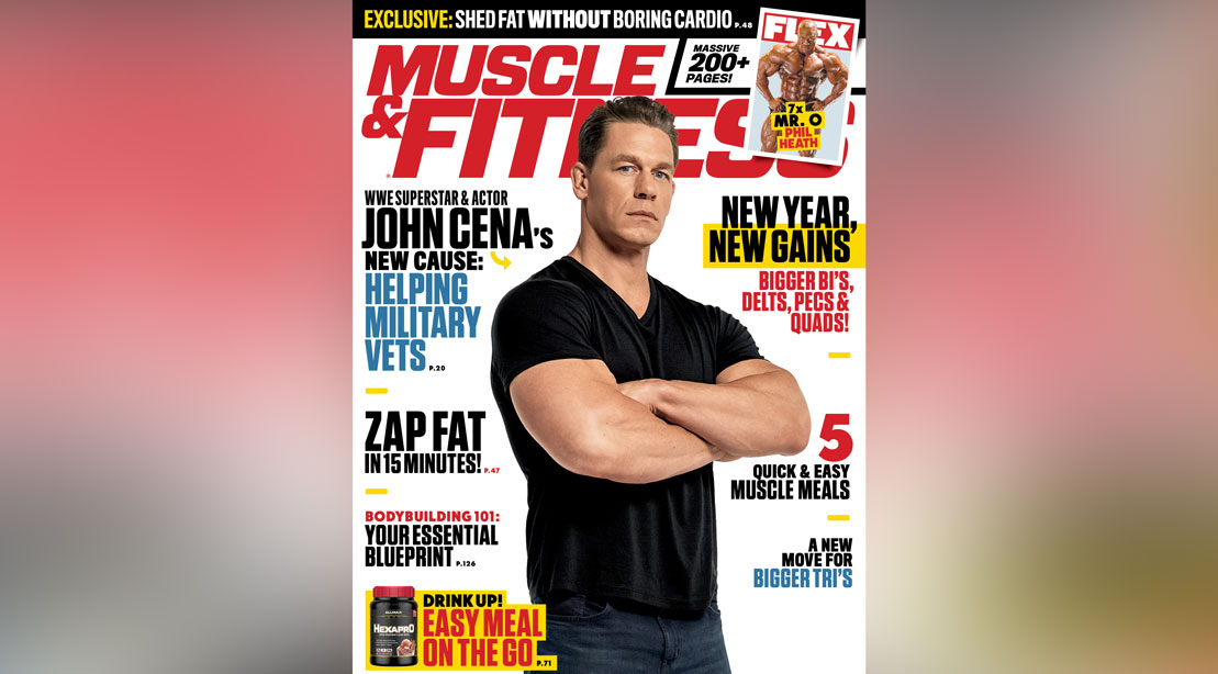 Get the January 2020 Issue of 'Muscle & Fitness'