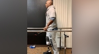 Flex Wheeler Posts Update Taking First Steps With Prosthetic Leg