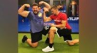 World's Strongest Man Winner Martins Licis Overhead Squats Gronk