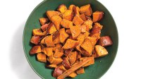 Maple Chia Sweet Potato Chunks