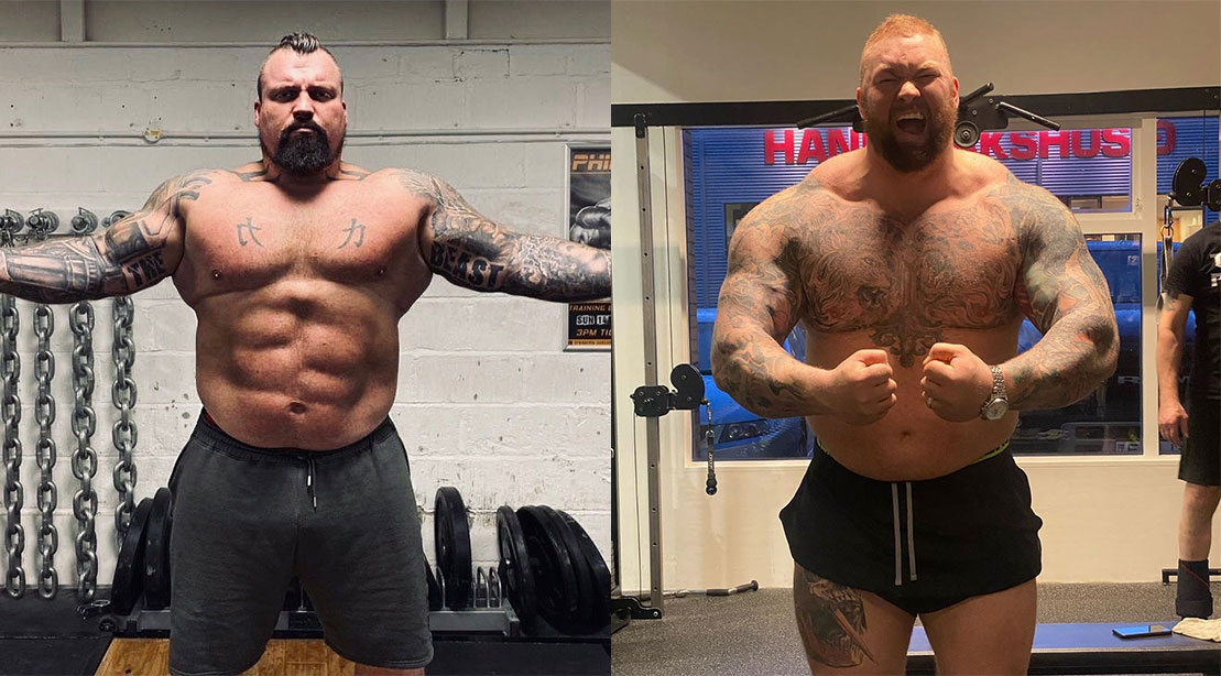 Eddie Hall and Hafthor Björnsson Gear Up for the Fight of the Decade