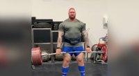 Hafþór Björnsson Deadlifts 888 Pounds Four Times
